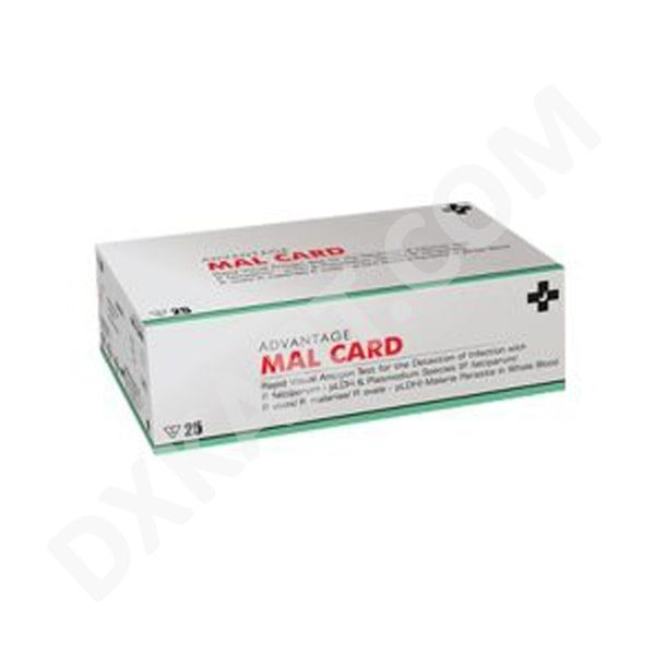 Advantage MAL CARD Rapid Test