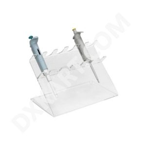 Micropipette Stand Transparent Acrylic