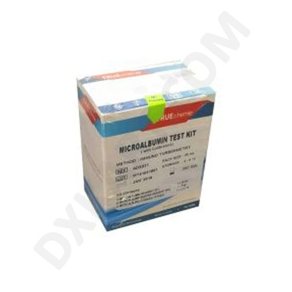 Micro Albumin with Calibrator Biochemistry Test Kit