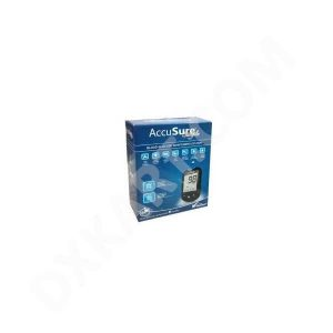 AccuSure Simple Glucometer With 50 Strips Glucometer